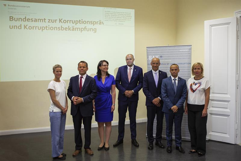 "Foto zu Artikel: Besuch einer Delegation des ""Inspectorate General of the Security Forces of the Czech Republic"""